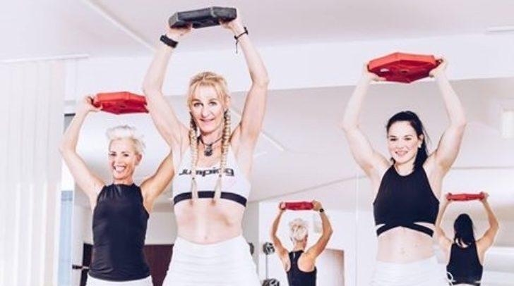 Das Team von Mirellas Sportwerkstätte: Birgit Paulitschke, Obfrau Mirella Somma und Lisa Hausott (v.l.)