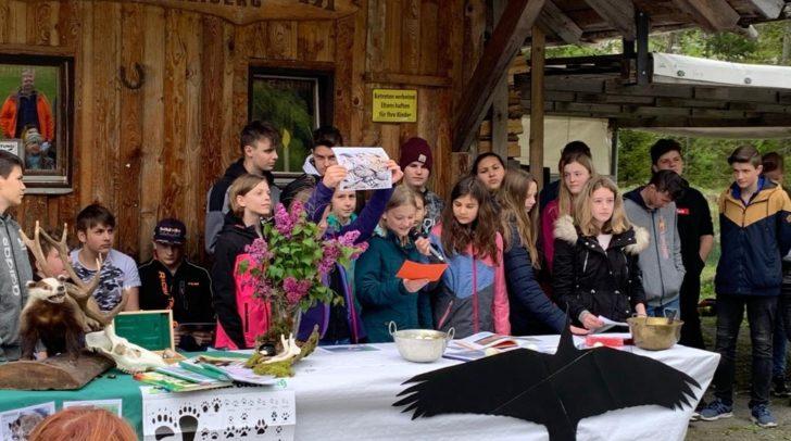 Die Schülerinnen und Schüler der Neuen Mittelschule Bad Bleiberg konnten Vieles in der Natur lernen.