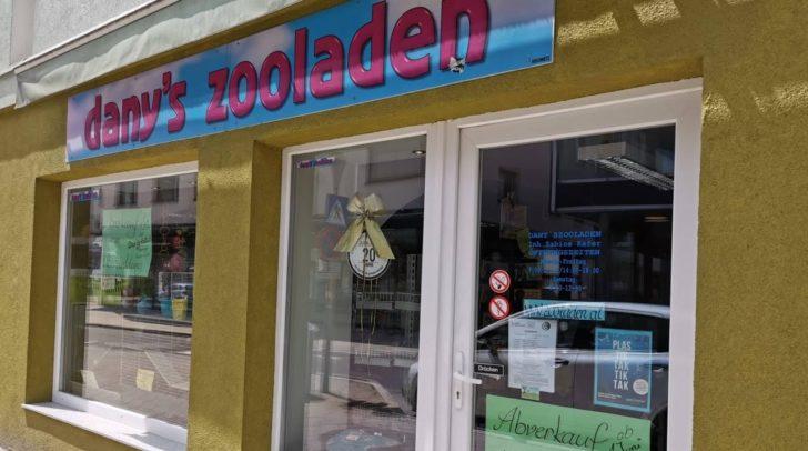 Mit 1. Juni wird der Zoofachhandel in der Italienerstraße geschlossen.