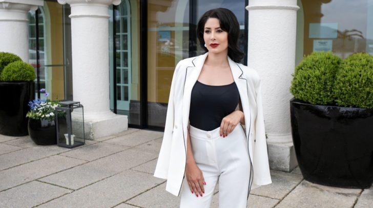 Emel Gloss präsentiert die erste Sommerkollektion ihres neuen Modelabels.