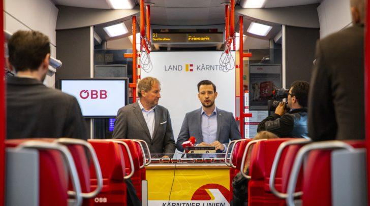 v.l.n.r.: Reinhard Wallner und LR Sebastian Schuschnig präsentierten Reformplan 2020 plus