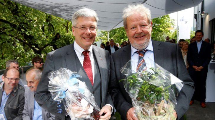 v.l.n.r.: LH Peter Kaiser mit Karl Heinz Haller (SAPP-Chief Executive Officer)