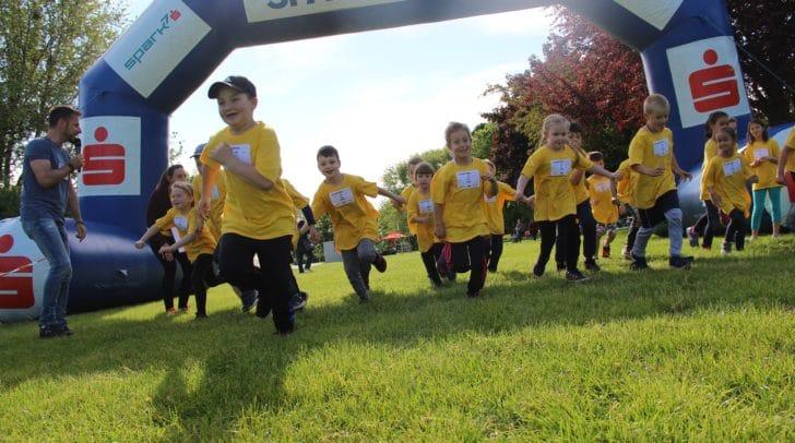 Mit Begeisterung waren die Läuferinnen und Läufer für Menschen in Not im Einsatz