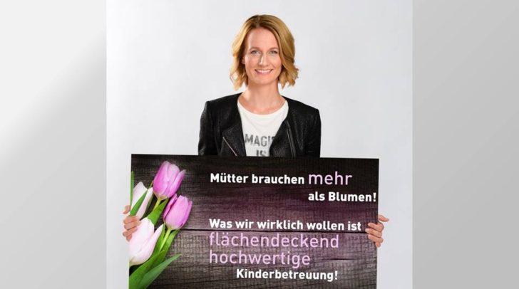 Die WKK-Vizepräsidentin und Landesvorsitzende von Frau in der Wirtschaft, Carmen Goby, setzt sich für eine bessere Kinderbetreuung in ganz Österreich ein.