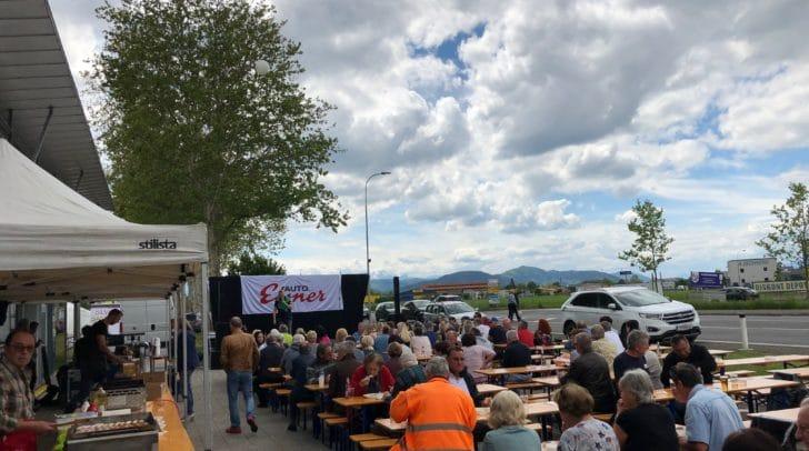 Leckere Grillerei, super Aktionen & live Musik gibt es beim Opel Eisner Frühlingsfest