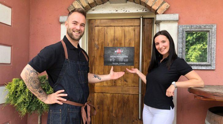 Die Inhaber Arnel & Neira Halilovic laden zum Grand Opening ein