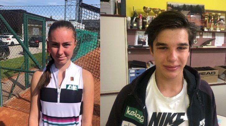 Elena Karner und Tobias Smoliner gaben beim ITF Panaceo Tennis Junior Cup ihr Bestes