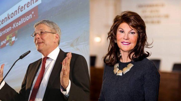Landeshauptmann Peter Kaiser freut sich über das Know-How der von Bundeskanzlerin Brigitte Bierlein angekündigten Ministerinnen und Minister.