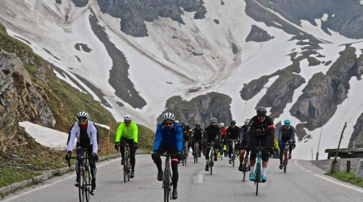 Gestartet wurde auf der Kaiser-Franz-Josef Höhe in 2.500 Metern Seehöhe.