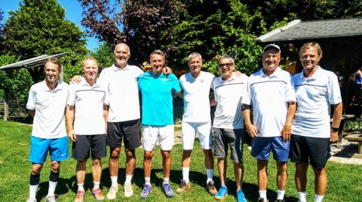 Siegerfoto Team Warmbad Villach Herren 55.