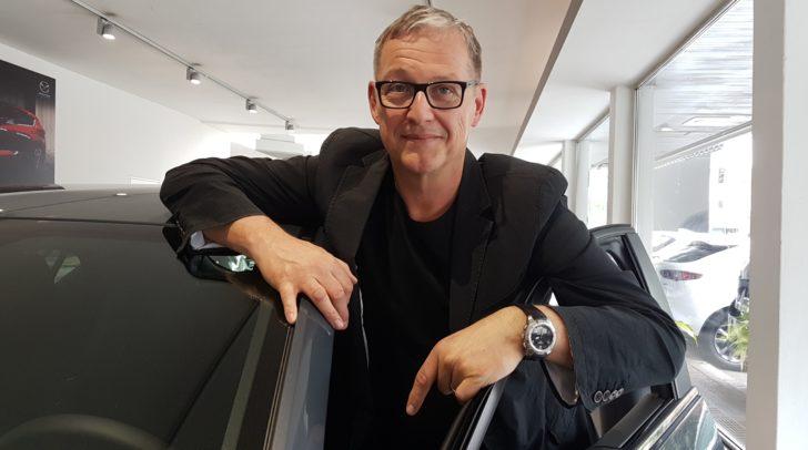 Egal ob im Beruf oder Privat – Michael Brodegger setzt auf Mazda.