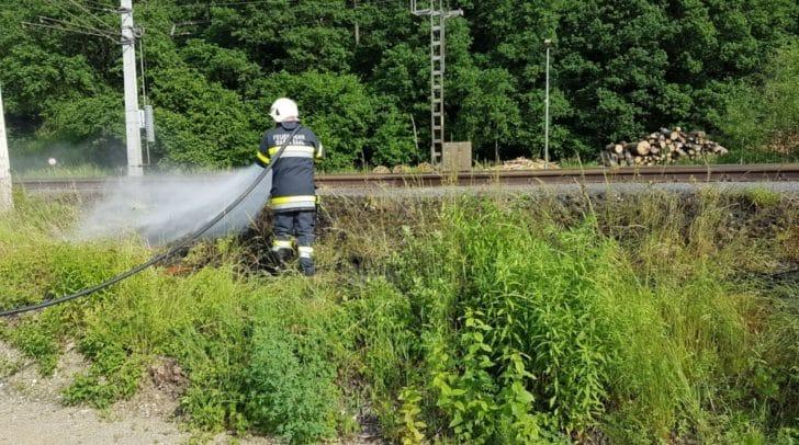 Der Brand konnte von den Einsatzkräften der FF Maria Saal rasch gelöscht werden.