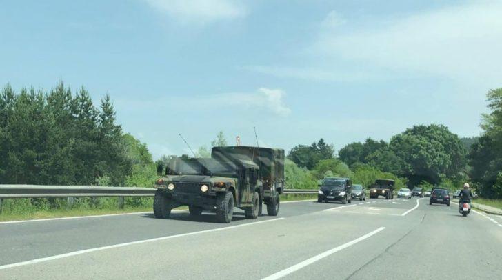 Heute, am 11. Juni 2019, wurde erneut die U.S. Army in Villach gesichtet.
