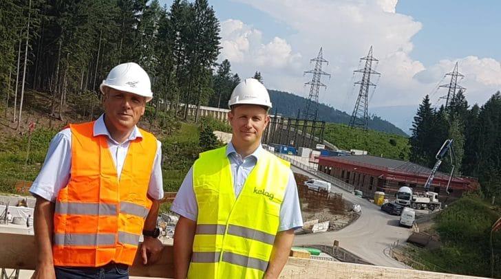 Wolfgang Ranninger, Projektleiter der APG und Gernot Kowatsch, Projektleiter der KNG.