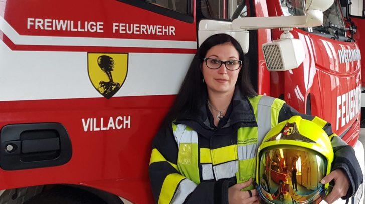 Bereits seit 13 Jahren ist Natascha im Einsatz für die Hauptfeuerwache Villach.