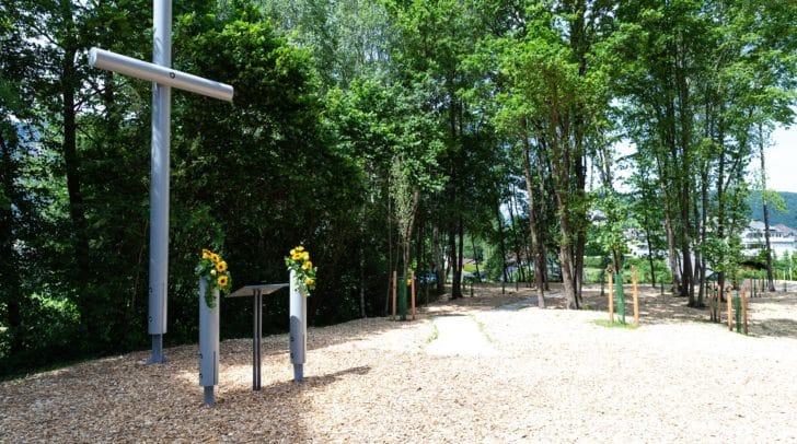 Gedenkplatz im Friedensforst Fürnitz