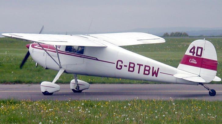 Ersten Informationen soll es sich bei dem Flugzeug um eine Cessna 120 gehandelt haben.