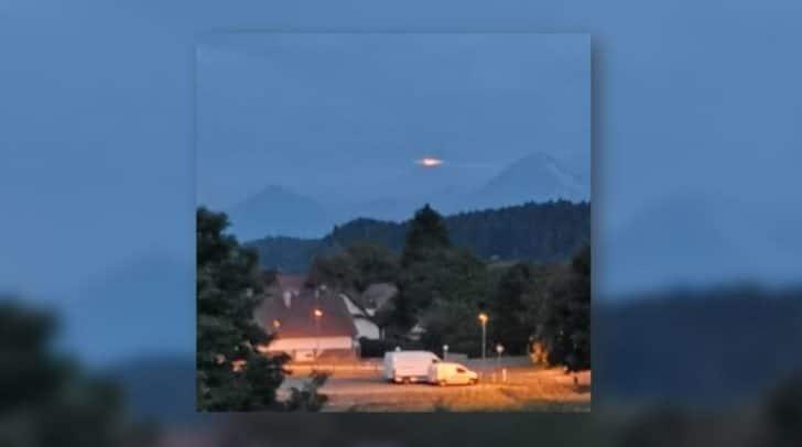 Ganz Kärnten rätselt: Was ist dort am Himmel zu sehen?