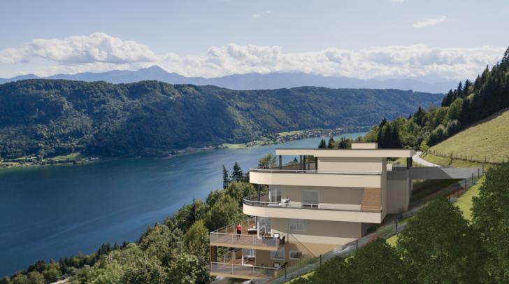 Hol dir die Natur nach Hause – mit dem traumhaften Ausblick auf die Bergwelt.