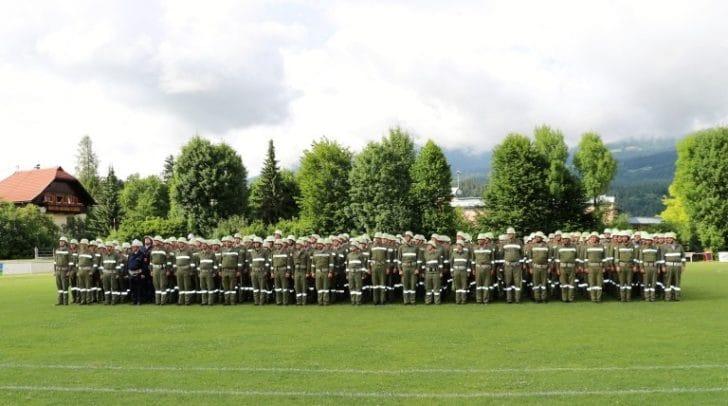Über 500 begeisterte Teilnehmer waren zu dem Bezirksleistungsbewerb in Pobersach-Feffernitz angereist.