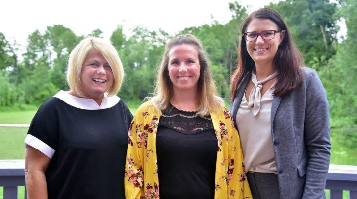 (v.l.n.r) Vizebürgermeisterin Gerda Sandriesser, marie-Theres Grillitsch und Landesrätin Sara Schaar