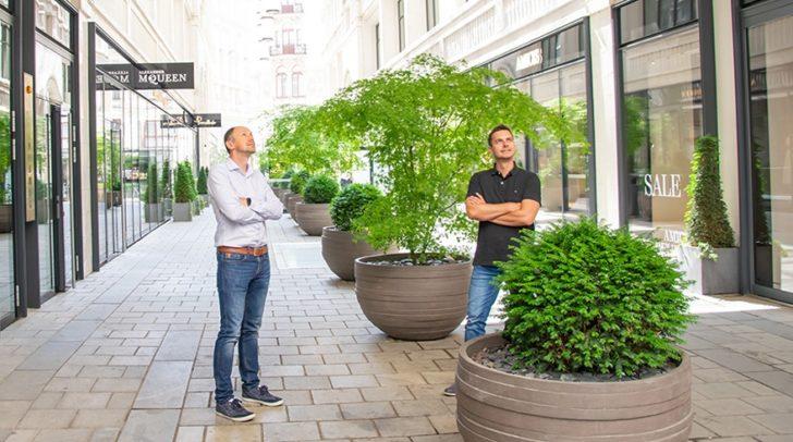 Nächster logischer Schritt: Die Eröffnung eines Büros in Wien.