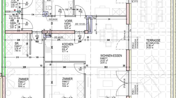 Der gut durchdachte Grundriss ermöglicht viel Gestaltungsspielraum.