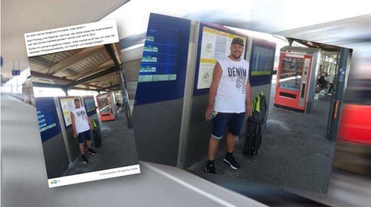 Der 34-jährige Villacher war Freitag mit dem Zug nach Wien zum Donauinselfest aufgebrochen.