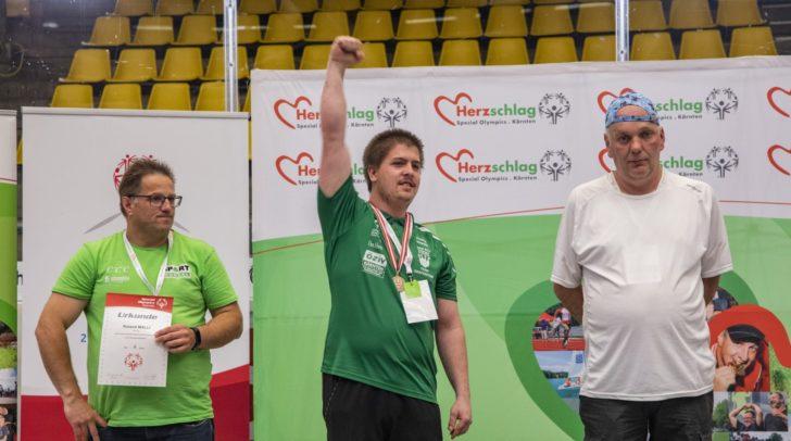 Philip Repnik (DSG Team Grafenstein) ist österreichischer Vizemeister im Ziel- und Lattenbewerb
