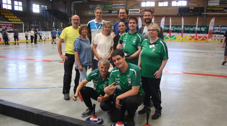 Das Team der DSG Grafenstein (mit dem Team der Stadthalle Villach) gewann BSO-Bronze im Mannschaftsbewerb