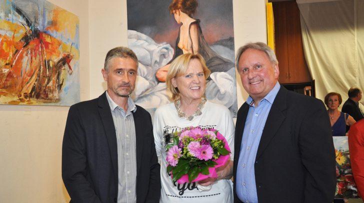Vom 4. Juni bis zum 16. Juni 2019 präsentiert Elfi Ripfl ihre Kunstwerke im Veldner Gemeindeamt.