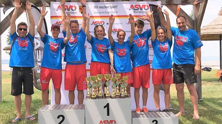 """Das """"Wörthersee-Swim Team"""" holte 10 x Gold, 1 x Silber und 1 x Bronze."""