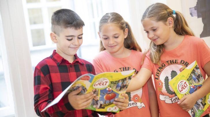 Das Österreichische Jugendrotkreuz und der Österreichische Buchklub der Jugend bringen gemeinsam neue Schülerzeitschriften heraus.