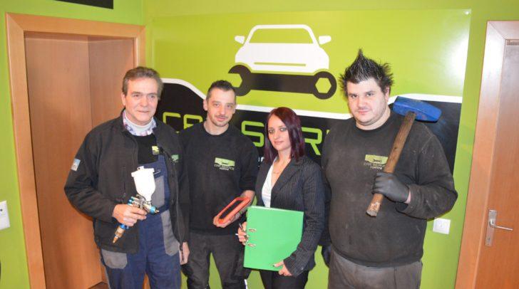 Die Autoprofis: Christian Keuschnig und sein Team vom Car Service Fürnitz.