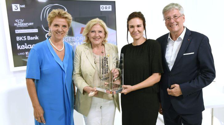 LDir. Karin Bernhard, Bgm. Maria-Luise Mathiaschitz, Birgit Birnbacher, LH Peter Kaiser