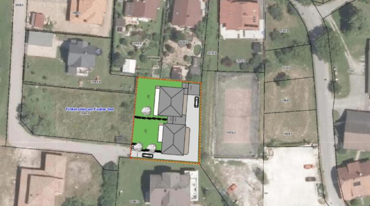 Lageplan: Hier werden die neuen Wohnprojekte entstehen.
