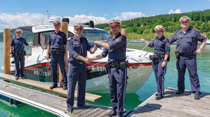 Am 3. Juni fand im Beisein von Stadtpolizeikommandant Oberst Horst Jessenitschnig die offizielle Schlüsselübergabe statt.