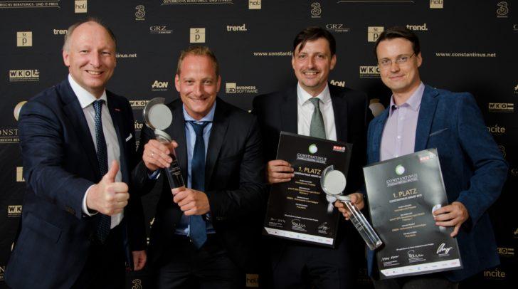 priorIT EDV-Dienstleistungen GmbH holte sich Platz 1.