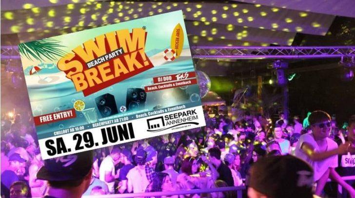 Bereits zum fünften Mal findet das SWIM-BREAK! im Seepark Annenheim statt.