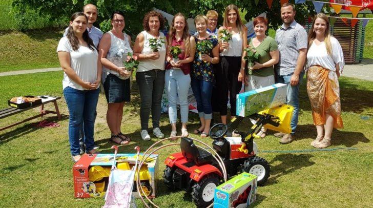 Die Kinder des Caritas Kindergartens Bad Bleiberg, luden vor kurzem zum 1. Sommerfest ein.