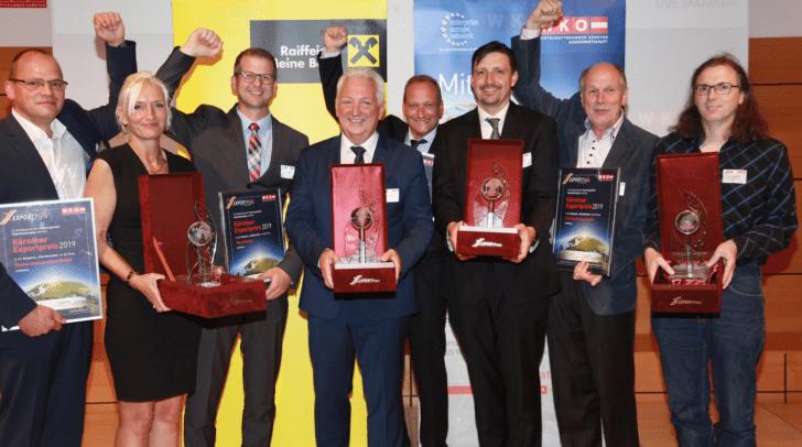 Der Bleiberger Betrieb SICO Technology wurde mit dem Exportpreis ausgezeichnet.