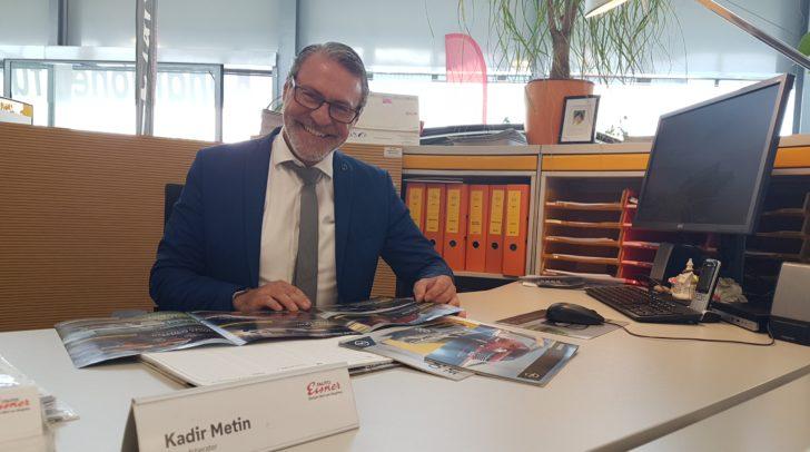 Eisner Nutzfahrzeuge Profi Kadir bringt Kärntens Unternehmen ins Rollen.