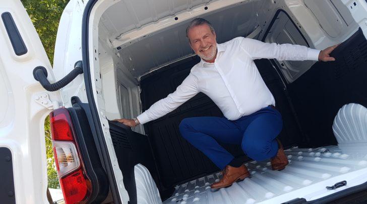 Kadir Metin vertritt für Eisner Auto die Nutzfahrzeugflotte.
