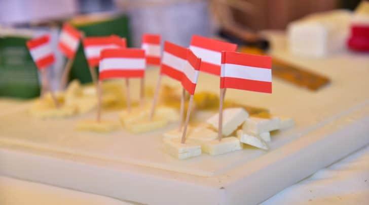 Milcherlebnistag Wochenmarkt Käse