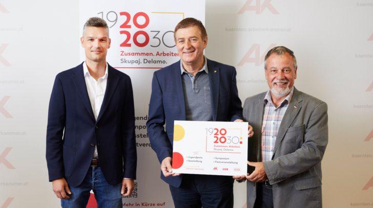 v.l.n.r: Daniel Weidlitsch, Günther Goach, Hermann Lipitsch