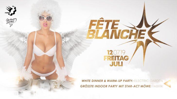 Mega Party: Ganz in Weiß wird am 12. Juli gefeiert!