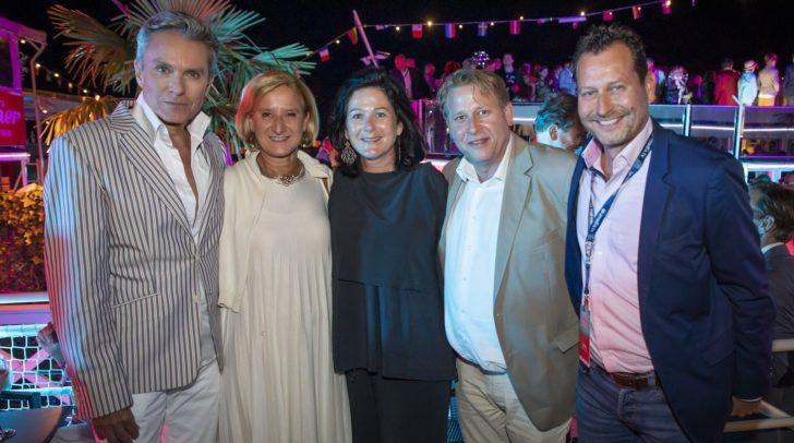 Alfons Haider, Johanna Mikl-Leitner, Andrea Fürst, Nils Klingohr und Alexander Hofer