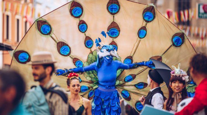 Das Straßenkunstfestival lockte rund 85.000 Besucher in die Innenstadt.