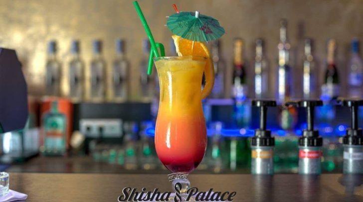 In der Shisha Bar sind verschiedenste Cocktails und hausgemachte Limonaden erhältlich.