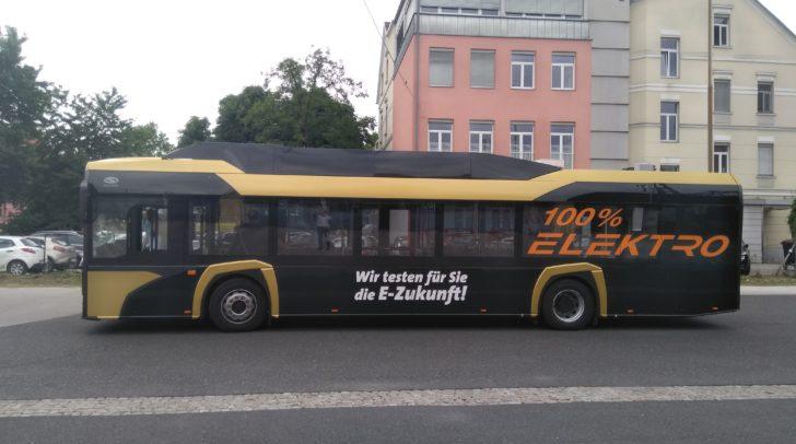 Die Klagenfurt Mobil GmbH testet einen E-Bus der neuen Generation.